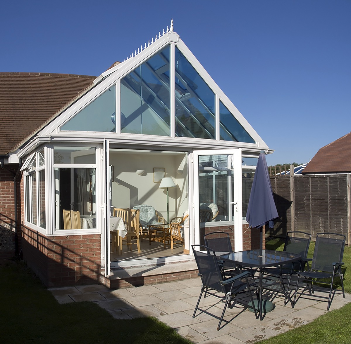 gable conservatory roof