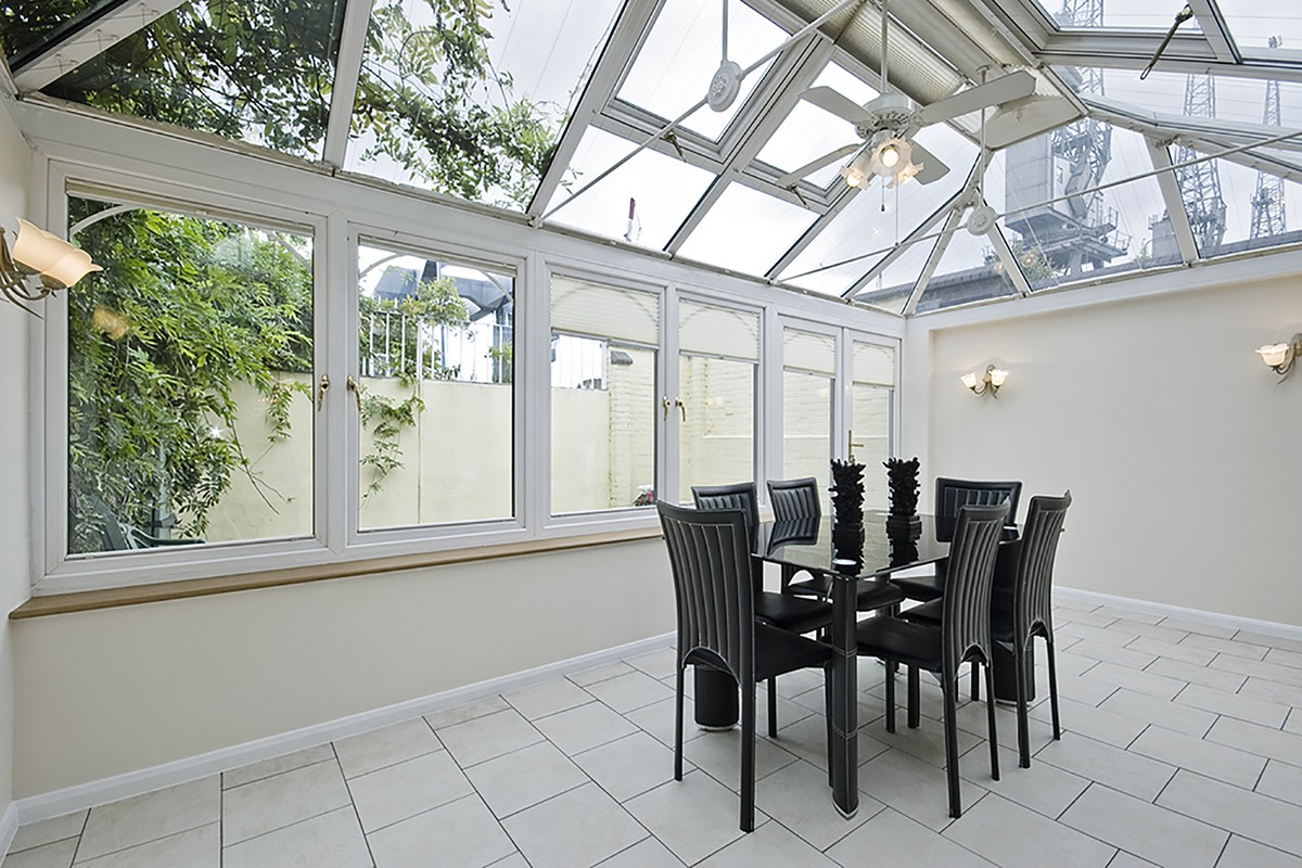 how to build a conservatory