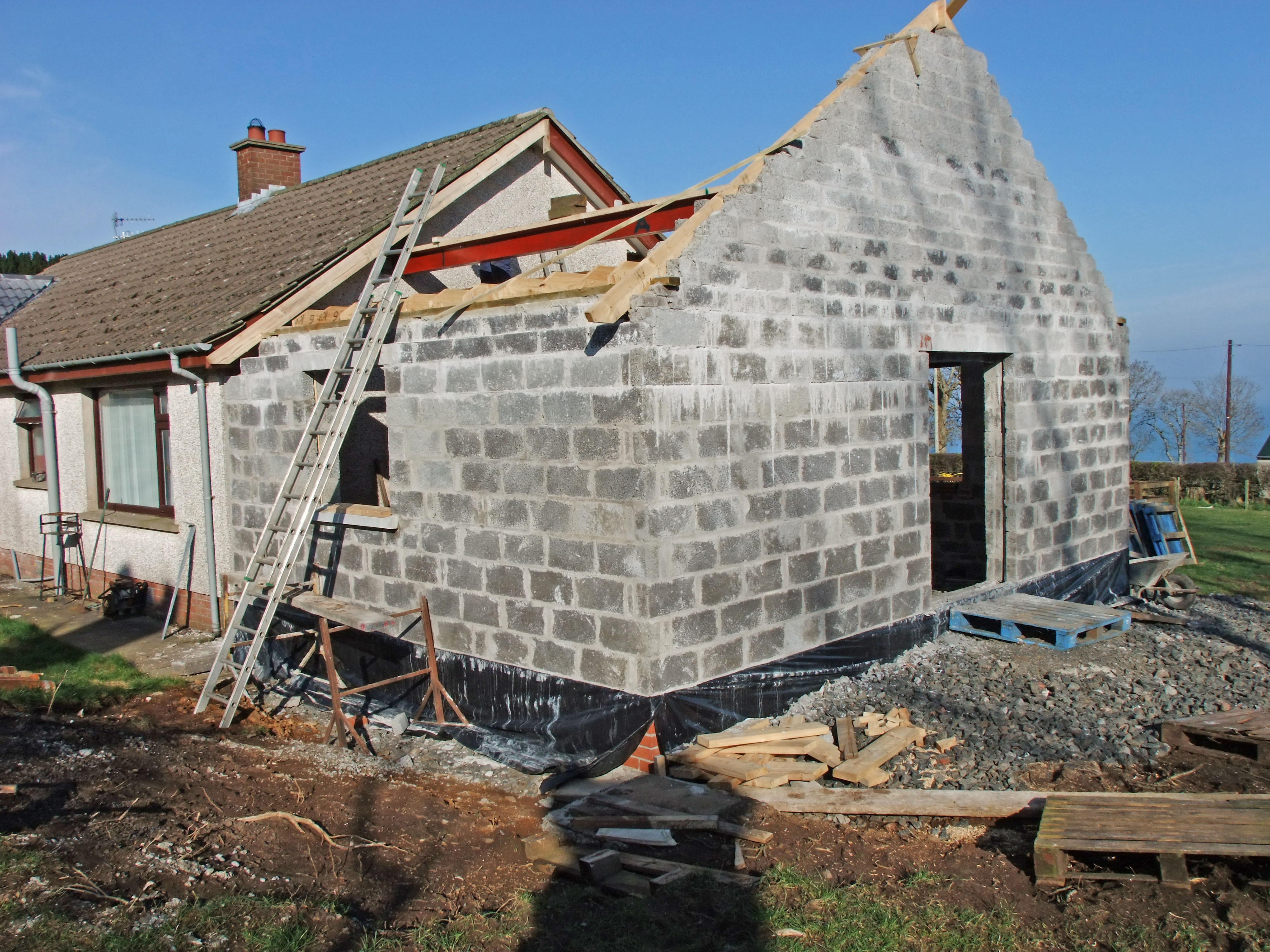 how long does it take to build an extension